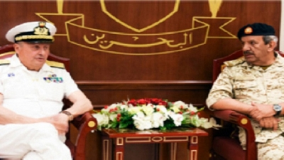 Bahrain's Commander-in-Chief Receives Italian Naval Chief