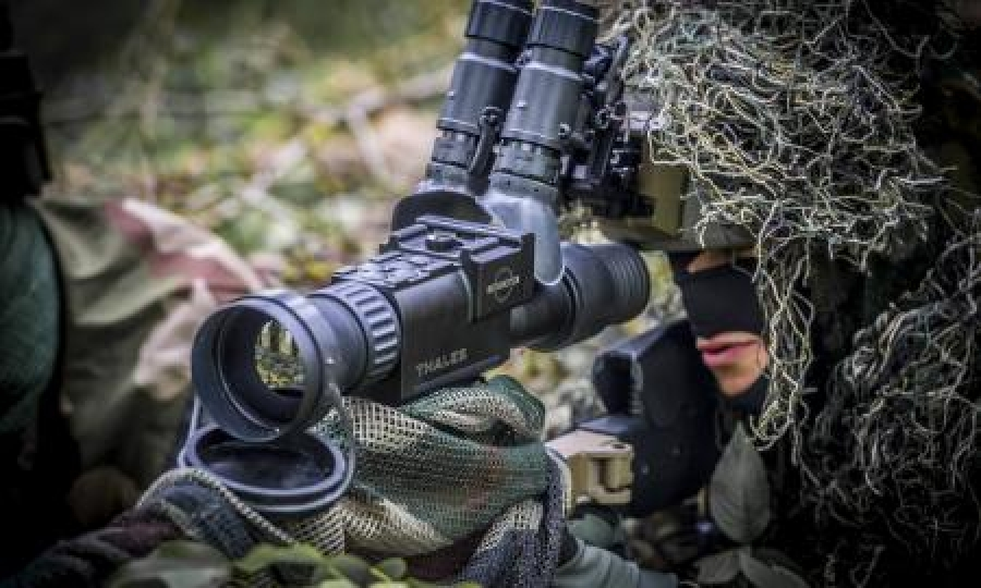 Thales and SCROME join forces to launch Cecile-TS, a new range of thermal weapon sights