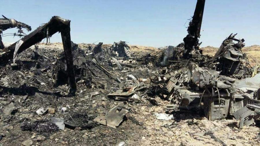 طائرة اوسبري V-22 Osprey تخذل وحدات الكوماندوس الامريكية في اليمن