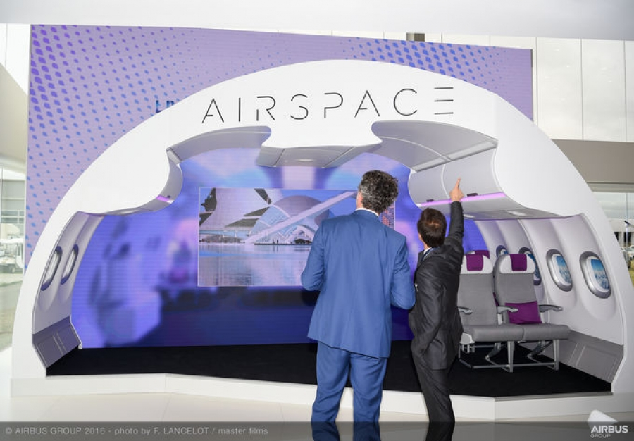 Farnborough Airshow 2016: Airspace by Airbus is the new sensation in cabin design