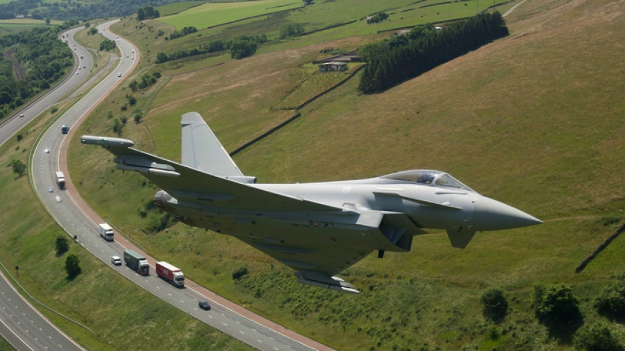 Inside the ultimate test drive: How British test pilots put the Eurofighter Typhoon through its paces