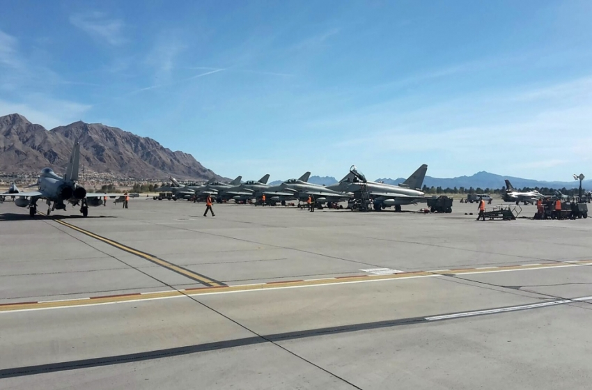 Red Flag 2016 - Italian Eurofighter Typhoons at Nellis