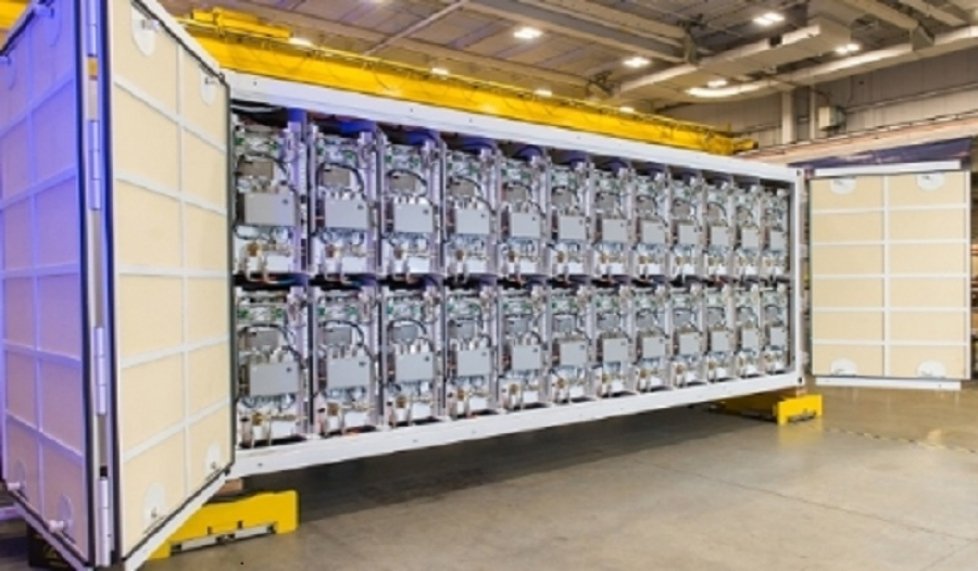 RAYTHEON BEGINS DELIVERY OF RAILGUN PULSE POWER CONTAINERS