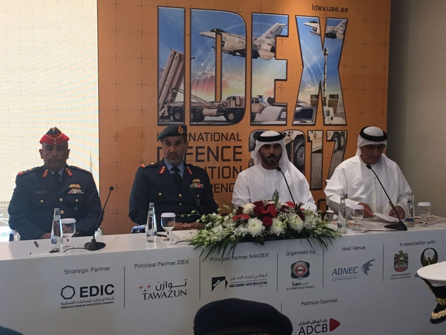 1,235 Specialised Local and International Companies to Participate in IDEX, NAVDEX 2017