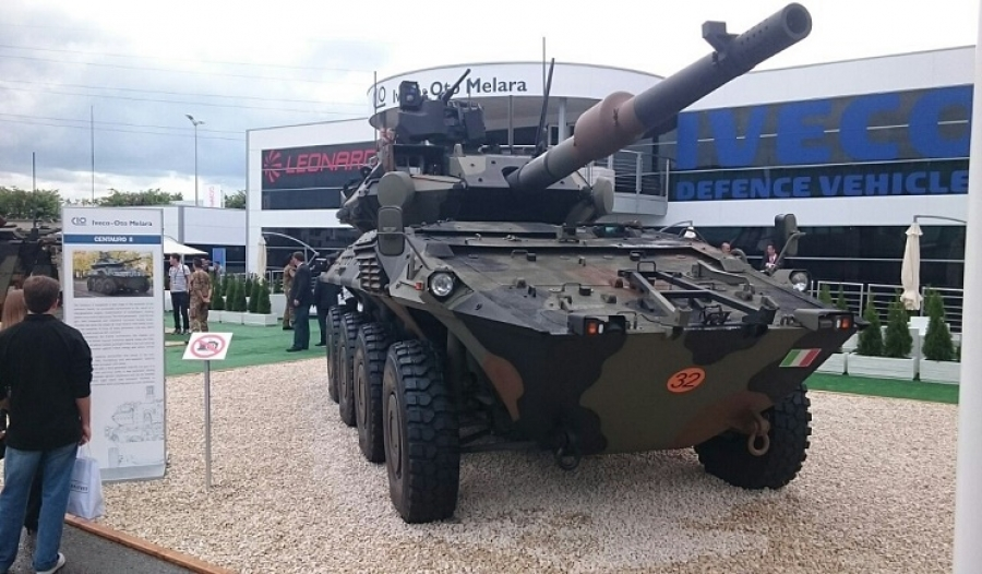 Eurosatory 2016 will give the Iveco–Oto Melara Consortium (CIO) the opportunity to display the latest and most innovative achievements in the field of armoured vehicles.
