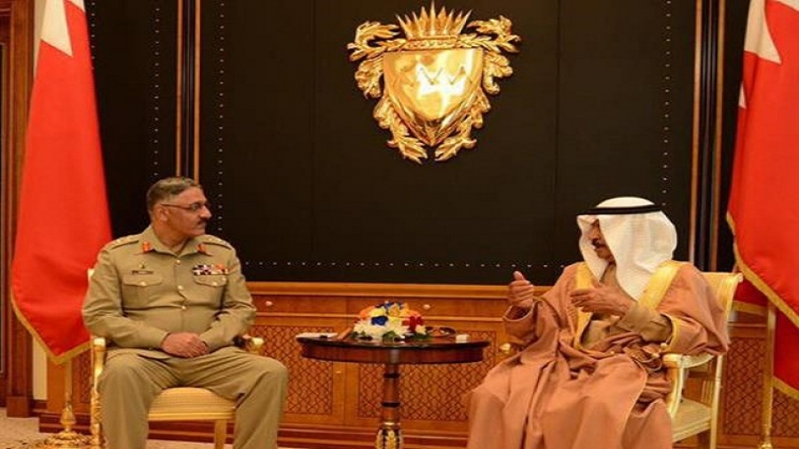 Pakistani Chairman of Joint Chiefs-of-Staff Visits Bahrain