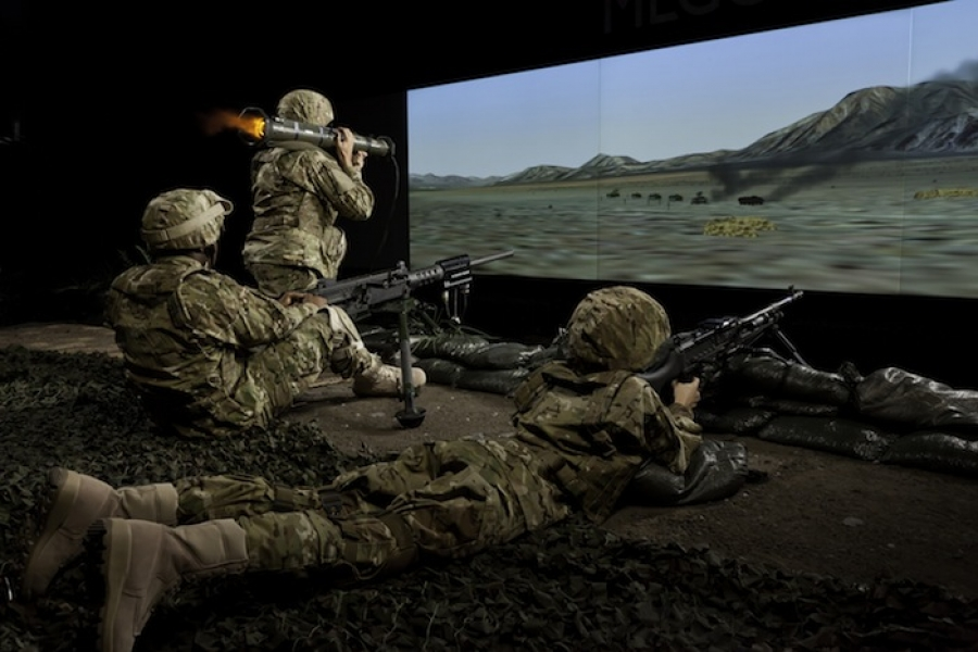 Meggitt Training Systems debuts enhanced virtual training system in Middle East.