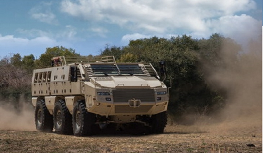 Paramount signs contract for local production of Mbombe vehicle in Jordan
