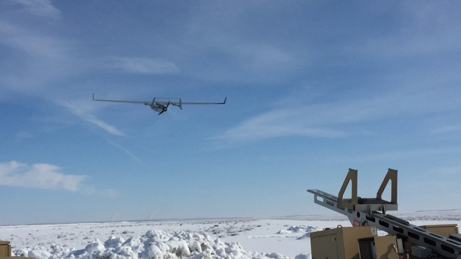 Redkite wide-area sensor takes first flight with Insitu Integrator