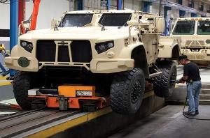 """""""أوشكوش التدريع للصناعة""""  شراكة سعودية - اميركية لنقل تقنية وخبرات الصناعات الدفاعية"""