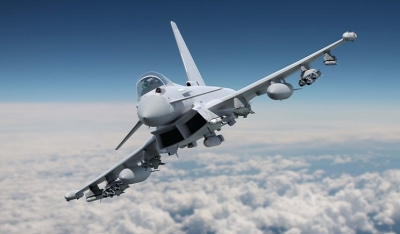 Typhoon with full phase 3 enhancement weapons fit to fly at major Air Shows